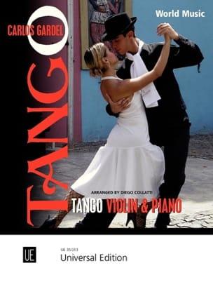 Tango For Violin & Piano Carlos Gardel Partition Violon - laflutedepan