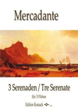 3 Sérénades Saverio Mercadante Partition laflutedepan