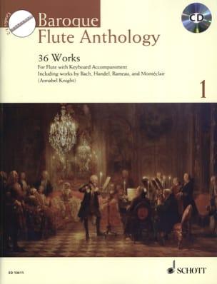 Baroque Flute Anthology Volume 1 Partition laflutedepan