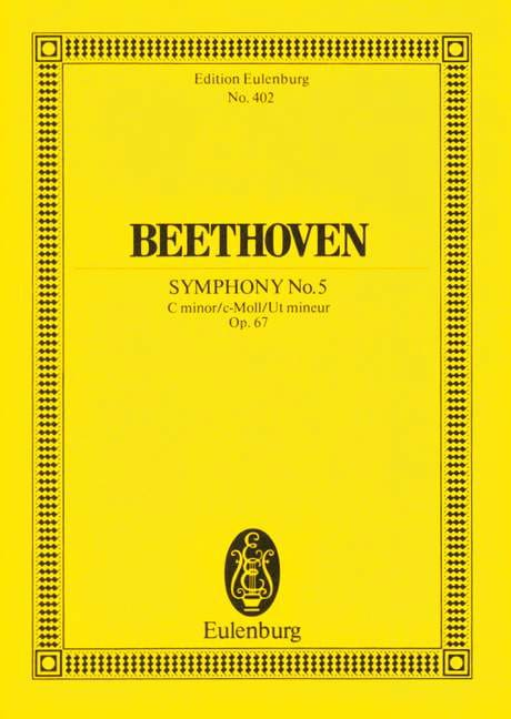 Symphonie Nr. 5 c-Moll - BEETHOVEN - Partition - laflutedepan.com