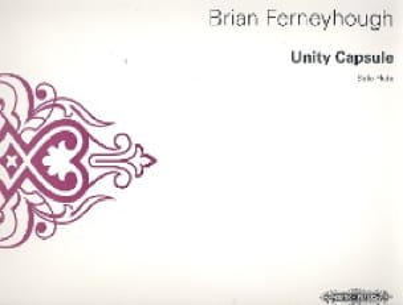 Unity Capsule - Flute solo - Brian Ferneyhough - laflutedepan.com