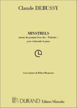 Minstrels - DEBUSSY - Partition - Violoncelle - laflutedepan.com