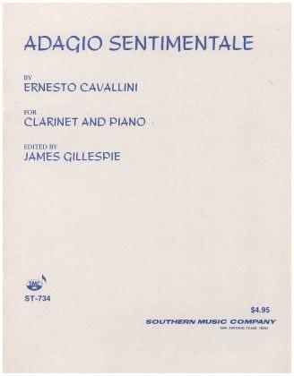 Adagio sentimentale - Ernesto Cavallini - laflutedepan.com