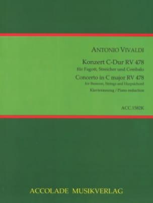 Concerto pour Basson en Do Majeur F. VIII n°3 - Basson et piano - laflutedepan.com