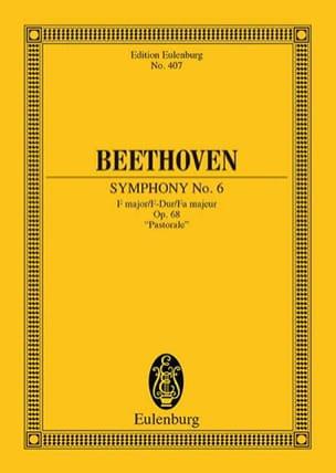 Symphonie Nr. 6 F-Dur BEETHOVEN Partition Petit format - laflutedepan
