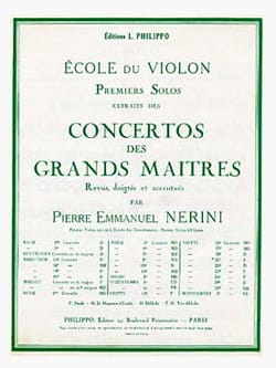 1er solo du Concerto n° 20 Nerini laflutedepan
