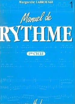 Manuel de rythme - 1er Cycle Marguerite Labrousse laflutedepan