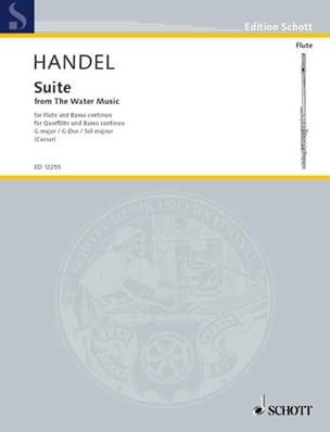 Suite in G from Water Music - Flute piano HAENDEL laflutedepan