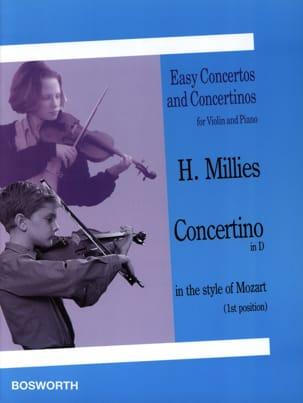 Concertino en ré dans le style de Mozart Hans Millies laflutedepan