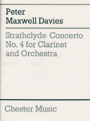 Strathclyde Concerto N° 4 Davies Peter Maxwell Partition laflutedepan