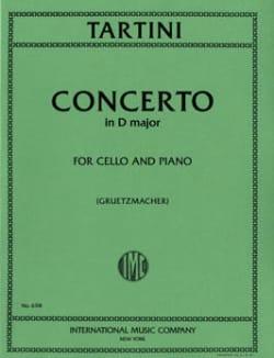 Concerto en ré majeur TARTINI Partition Violoncelle - laflutedepan