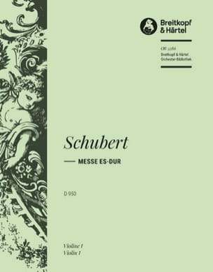 Messe in Eb D.950 - Matériel d'Orchestre SCHUBERT laflutedepan