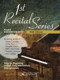 First Recital Series for cello - piano accompaniment laflutedepan