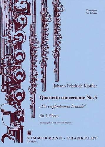 Quartetto concertante n° 5 -4 Flöten - laflutedepan.com