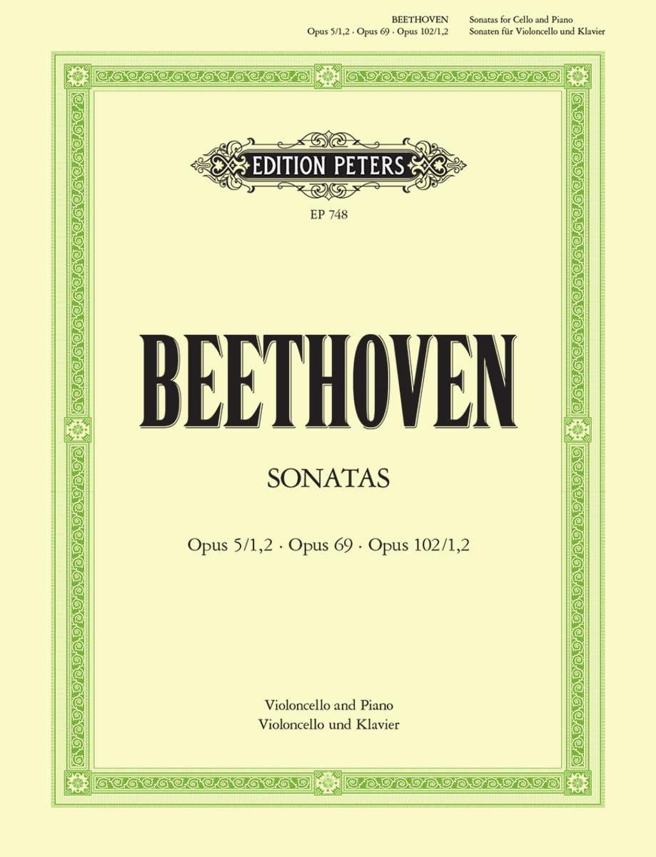 Sonaten - BEETHOVEN - Partition - Violoncelle - laflutedepan.com