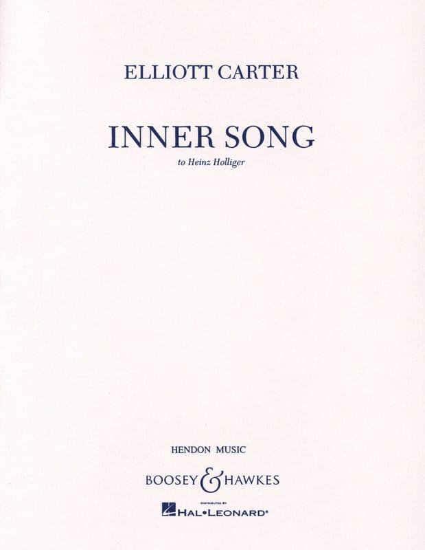 Inner Song - Elliott Carter - Partition - Hautbois - laflutedepan.com