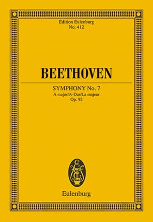 Symphonie Nr. 7 A-Dur BEETHOVEN Partition Petit format - laflutedepan