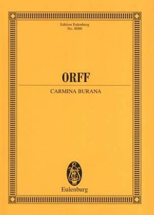 Carmina Burana - Partitur - ORFF - Partition - laflutedepan.com