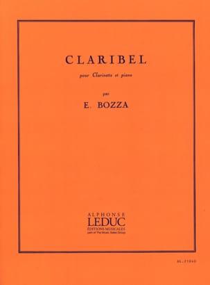 Eugène Bozza - Claribel - Partition - di-arezzo.com