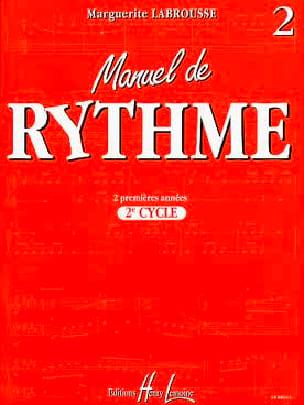 Manuel de Rythme - 2ème Cycle Marguerite Labrousse laflutedepan