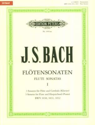 Flötensonaten - Bd. 1 BWV 1030, 1031, 1032 BACH laflutedepan