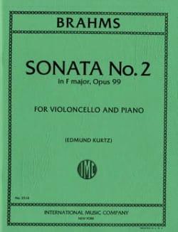 Sonata n°2 in F major op. 99 BRAHMS Partition laflutedepan