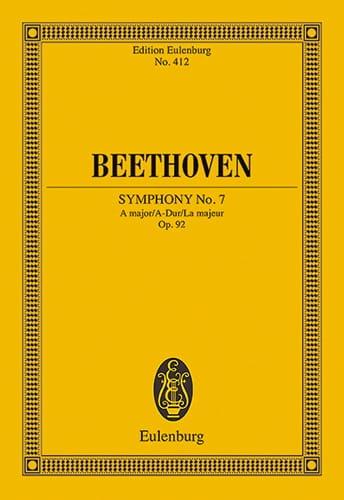 Symphonie Nr. 7 A-Dur - BEETHOVEN - Partition - laflutedepan.com