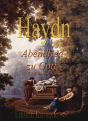 Abendlied zu Gott -4 Flöten & klavier - HAYDN - laflutedepan.com