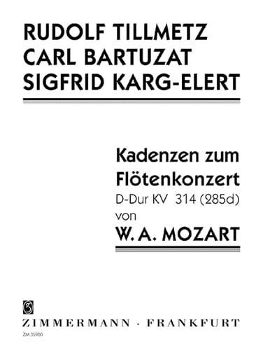 Cadences Du Concerto En Ré Maj Kv.314 - laflutedepan.com