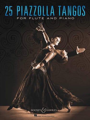 25 Piazzolla Tangos - Flûte et piano - laflutedepan.com