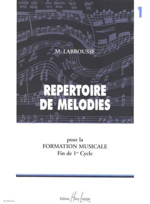 Répertoire de mélodies - Volume 1 Marguerite Labrousse laflutedepan