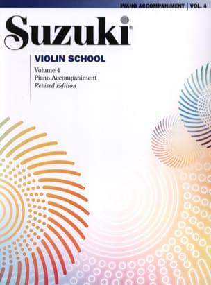 Violin School Vol.4 - Accompagnement Piano SUZUKI laflutedepan