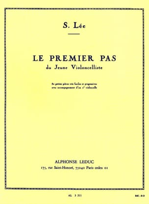 Le premier pas op. 101 Sebastian Lee Partition laflutedepan