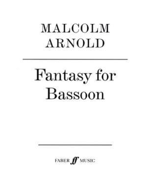 Fantasy for bassoon Malcolm Arnold Partition Basson - laflutedepan