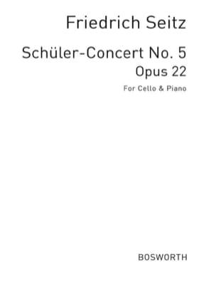 Concerto in D op. 22 -Cello Friedrich Seitz Partition laflutedepan