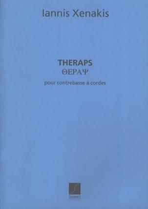 Theraps - Contrebasse XENAKIS Partition Contrebasse - laflutedepan