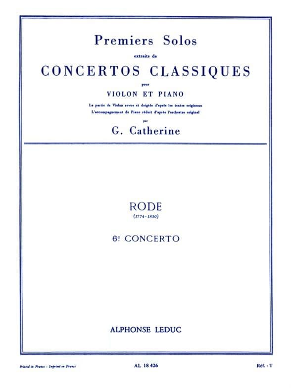 1er Solo du Concerto n° 6 - laflutedepan.com