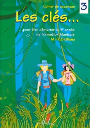 Les Clés... Volume 3 - SICILIANO - Partition - laflutedepan.be