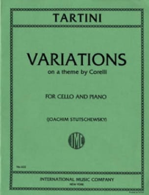 Variations sur un thème de Corelli - TARTINI - laflutedepan.com