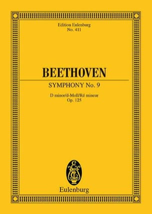 Symphonie Nr. 9 D-Moll Op. 125 - Conducteur BEETHOVEN laflutedepan