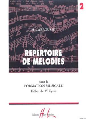 Répertoire de Mélodies Volume 2 Marguerite Labrousse laflutedepan