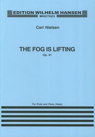 The fog is lifting op. 41 - Flute piano or harp NIELSEN laflutedepan