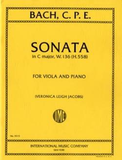 Sonate C major, W. 136 H. 558 - Viola laflutedepan