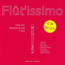 Flût'issimo Volume 1 Flutissimo Partition Flûte à bec - laflutedepan