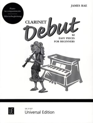 Clarinet Debut - Accompagnement Piano James Rae Partition laflutedepan