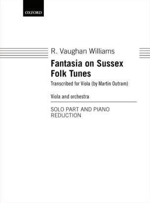 Fantasia on Sussex Folk Tunes WILLIAMS VAUGHAN Partition laflutedepan