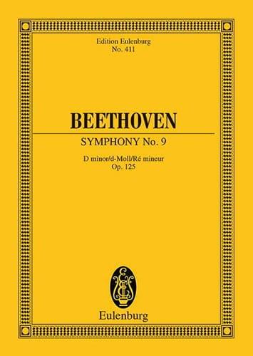 Symphonie Nr. 9 D-Moll Op. 125 - Conducteur - laflutedepan.com