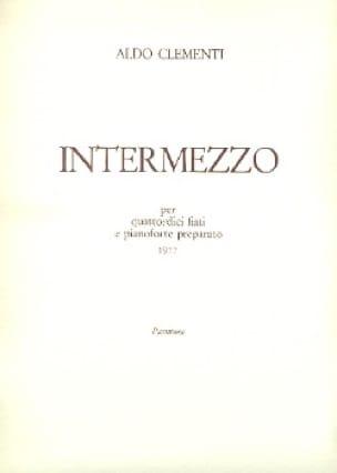 Intermezzo - Aldo Clementi - Partition - laflutedepan.com