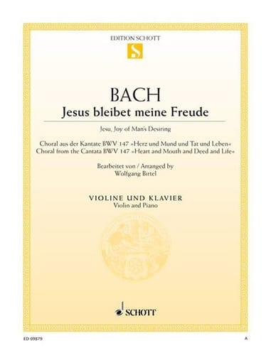 Jesus Bleibet Meine Freude - Violon - BACH - laflutedepan.com