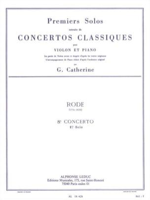 1er Solo du Concerto n° 8 mi mineur op. 13 laflutedepan